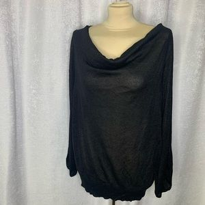 Lane Bryant cut out sleeve blouse